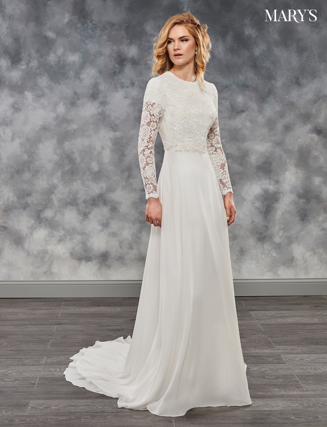 Ivory Color Bridal Dresses - Style - MB2029