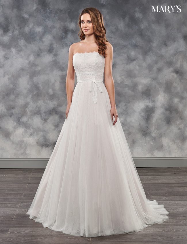 Dusty Rose Color Bridal Dresses - Style - MB2034