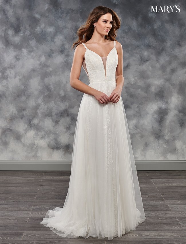 Ivory Color Bridal Dresses - Style - MB2036