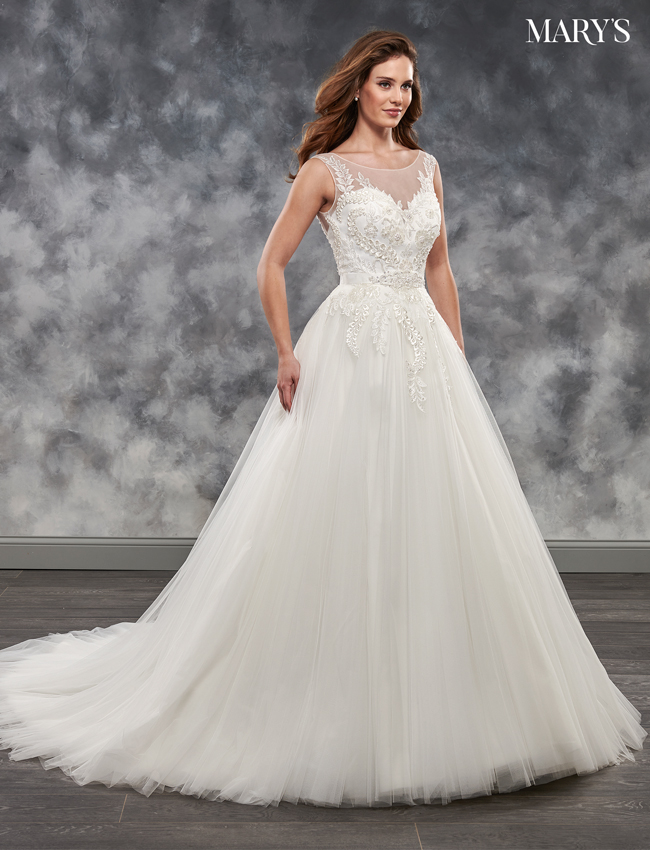 Ivory Color Bridal Dresses - Style - MB2039