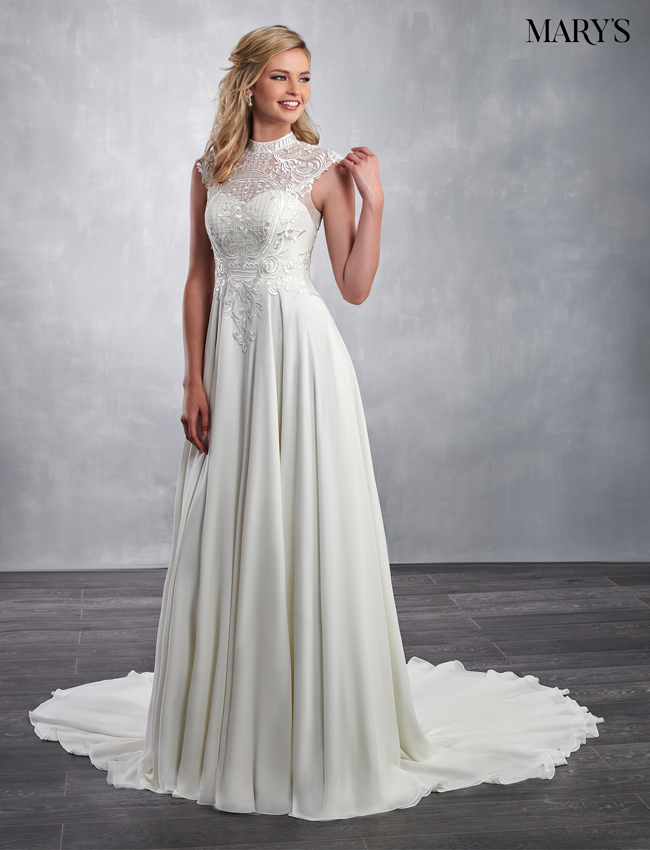 Ivory Color Bridal Dresses - Style - MB2040