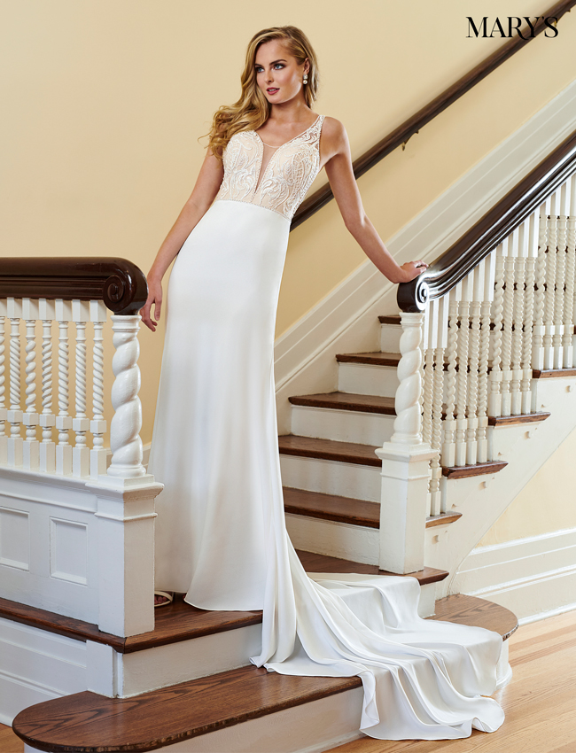 Ivory Color Bridal Dresses - Style - MB2045