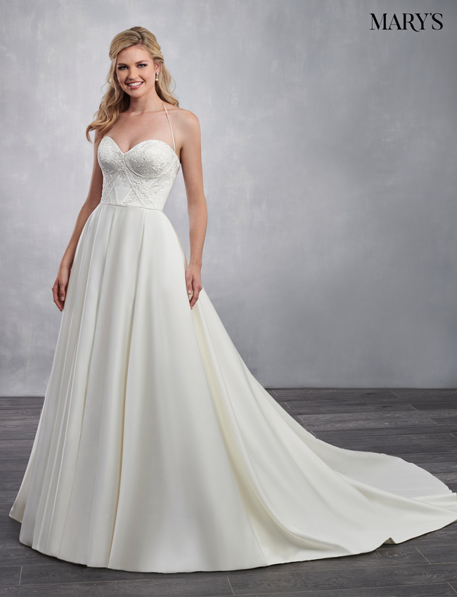 Ivory Color Bridal Dresses - Style - MB2047