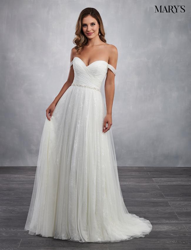 Color Bridal Dresses - Style - MB2048