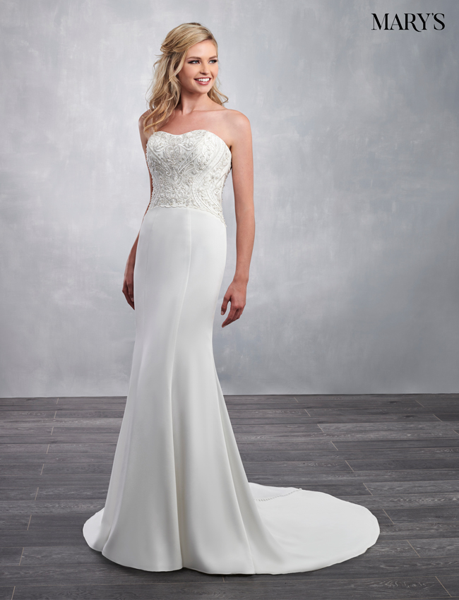 Ivory Color Bridal Dresses - Style - MB2049