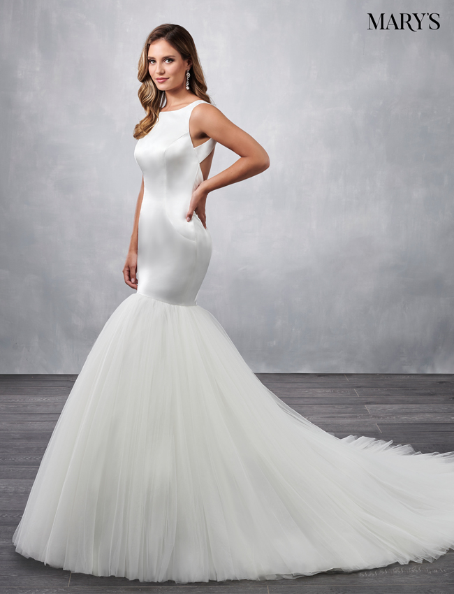 Ivory Color Bridal Dresses - Style - MB2050