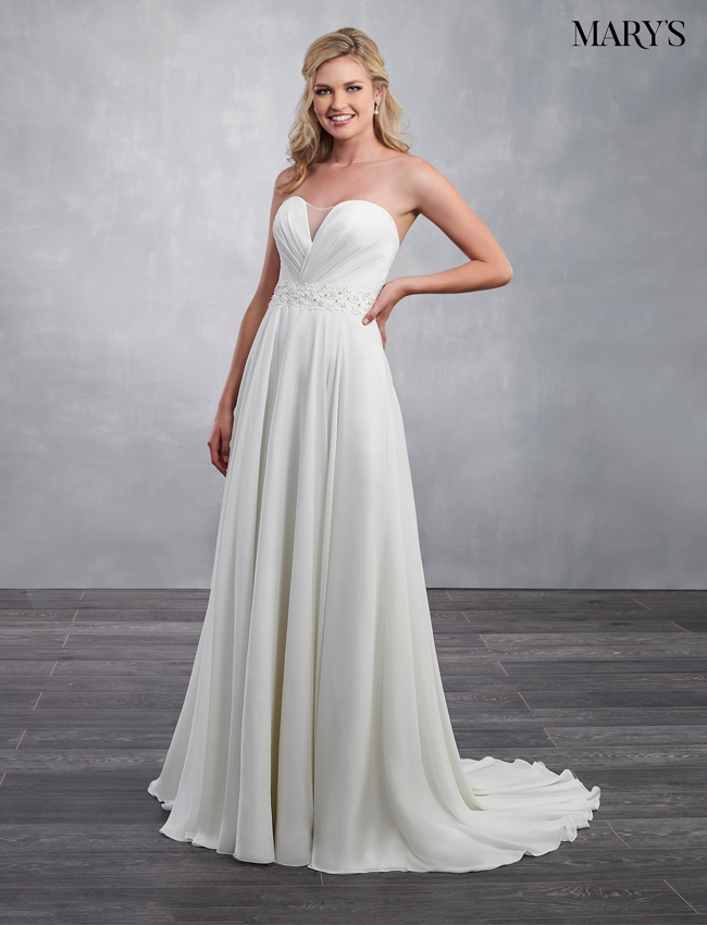 Ivory Color Bridal Dresses - Style - MB2051