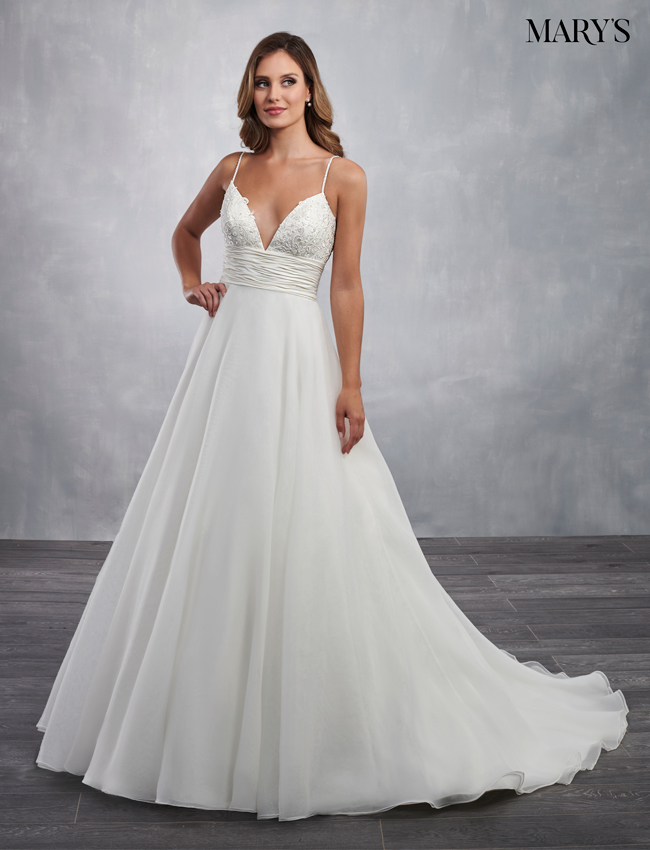 Ivory Color Bridal Dresses - Style - MB2052