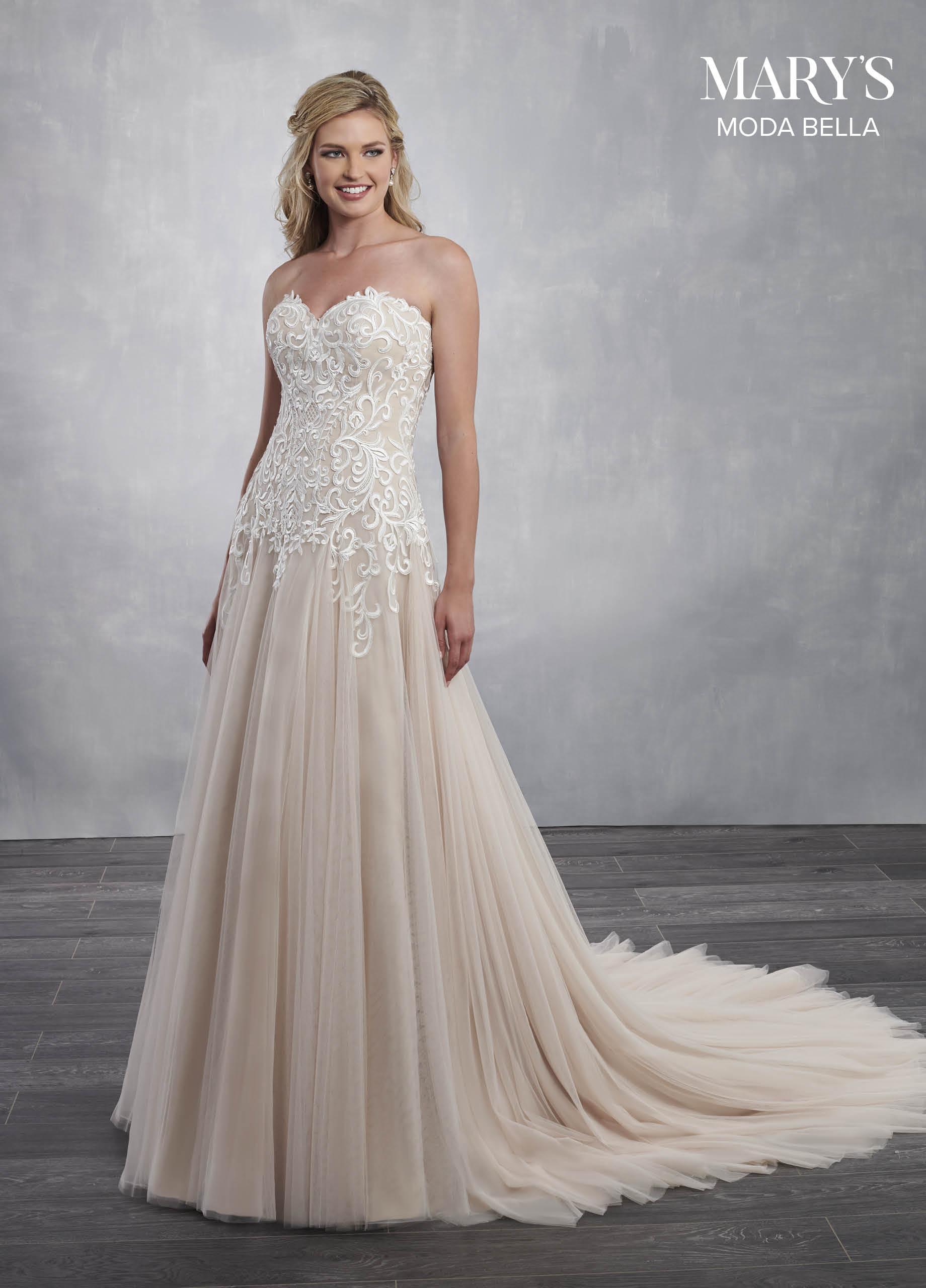 Bridal Dresses | Moda Bella | Style - MB2055