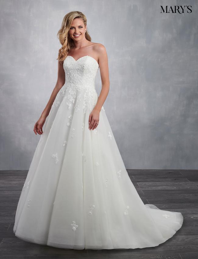 Light Blue Color Bridal Dresses - Style - MB2060