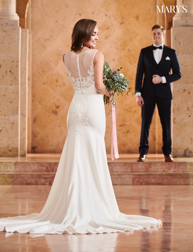 Ivory Color Bridal Dresses - Style - MB2063