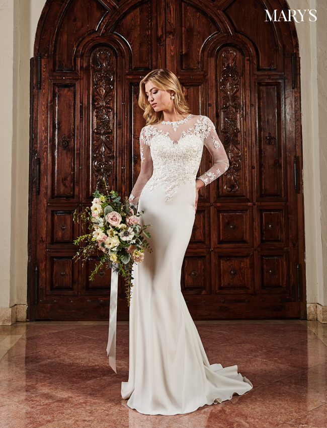 Ivory Color Bridal Dresses - Style - MB2066