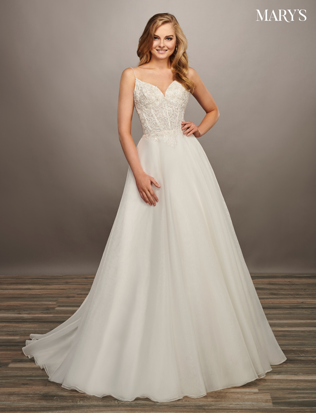 Ivory Color Bridal Dresses - Style - MB2067