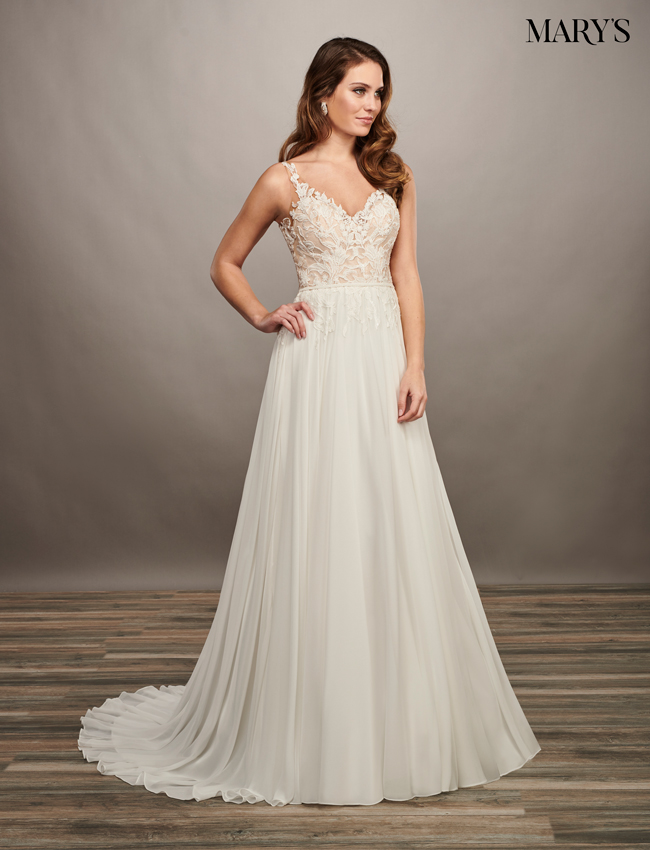 Nude Color Bridal Dresses - Style - MB2068