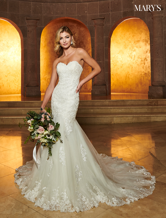 Ivory Color Bridal Dresses - Style - MB2069
