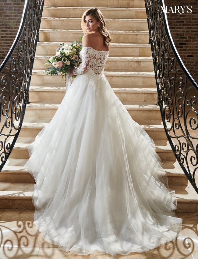 Ivory Color Bridal Dresses - Style - MB2070