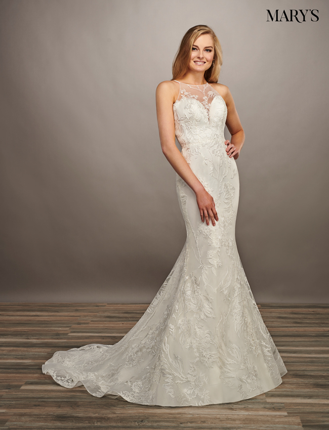 Ivory Color Bridal Dresses - Style - MB2071