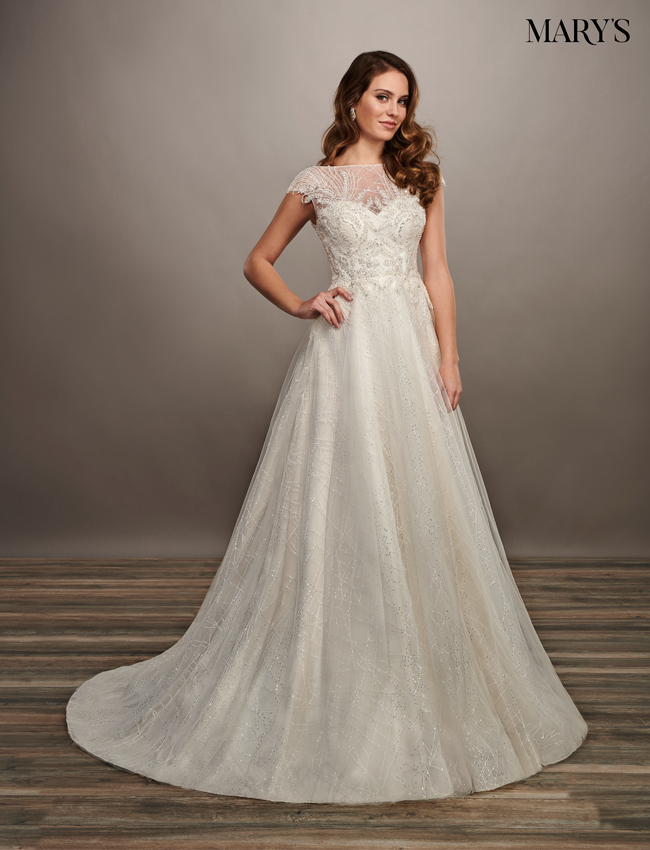 Ivory Color Bridal Dresses - Style - MB2072