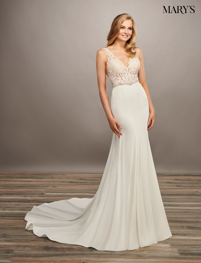 Nude Color Bridal Dresses - Style - MB2074