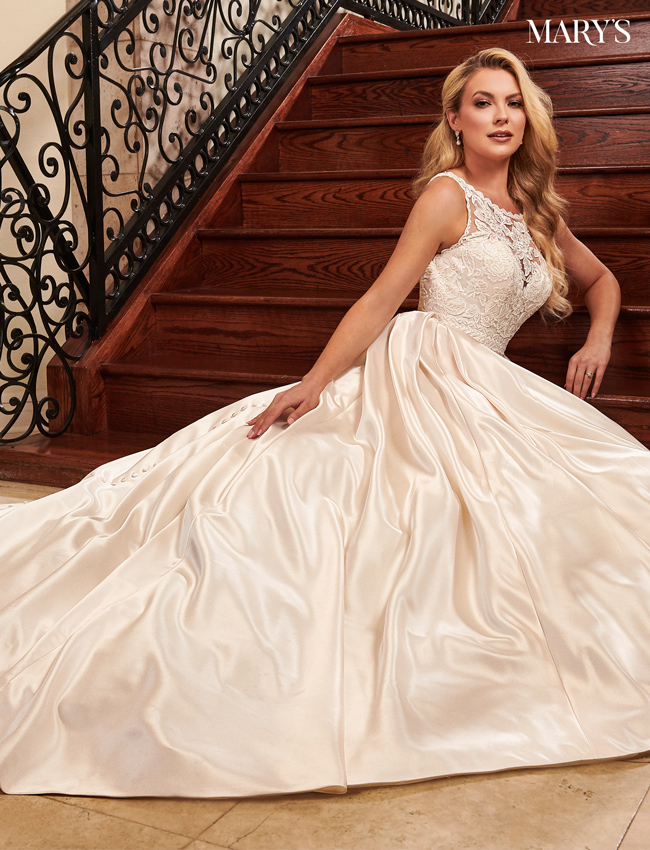 Color Bridal Dresses - Style - MB2078