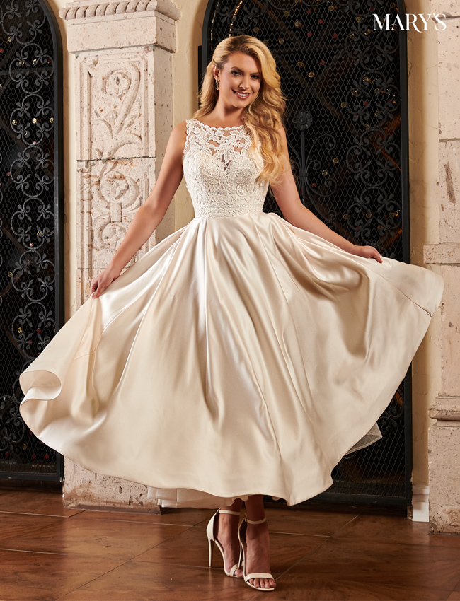 Color Bridal Dresses - Style - MB2079
