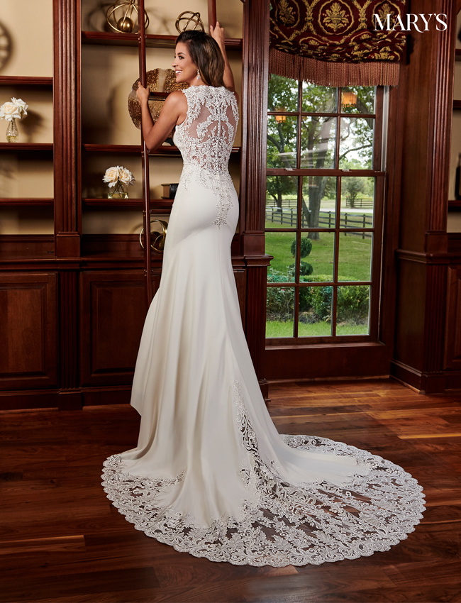 Ivory Color Bridal Dresses - Style - MB2082