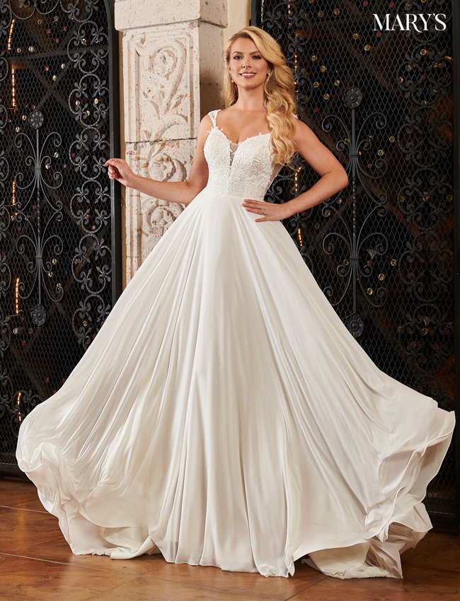 Ivory Color Bridal Dresses - Style - MB2083