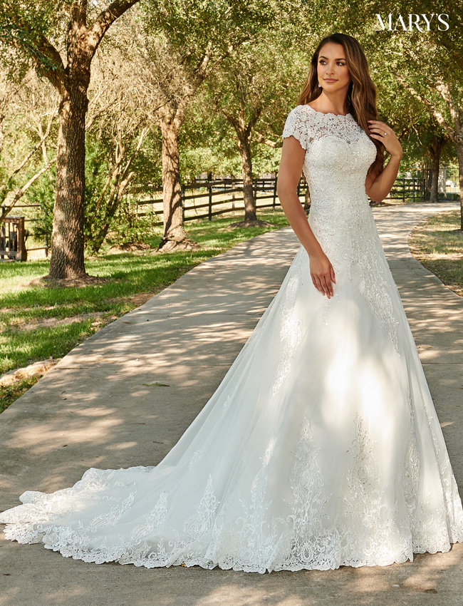 Ivory Color Bridal Dresses - Style - MB2084