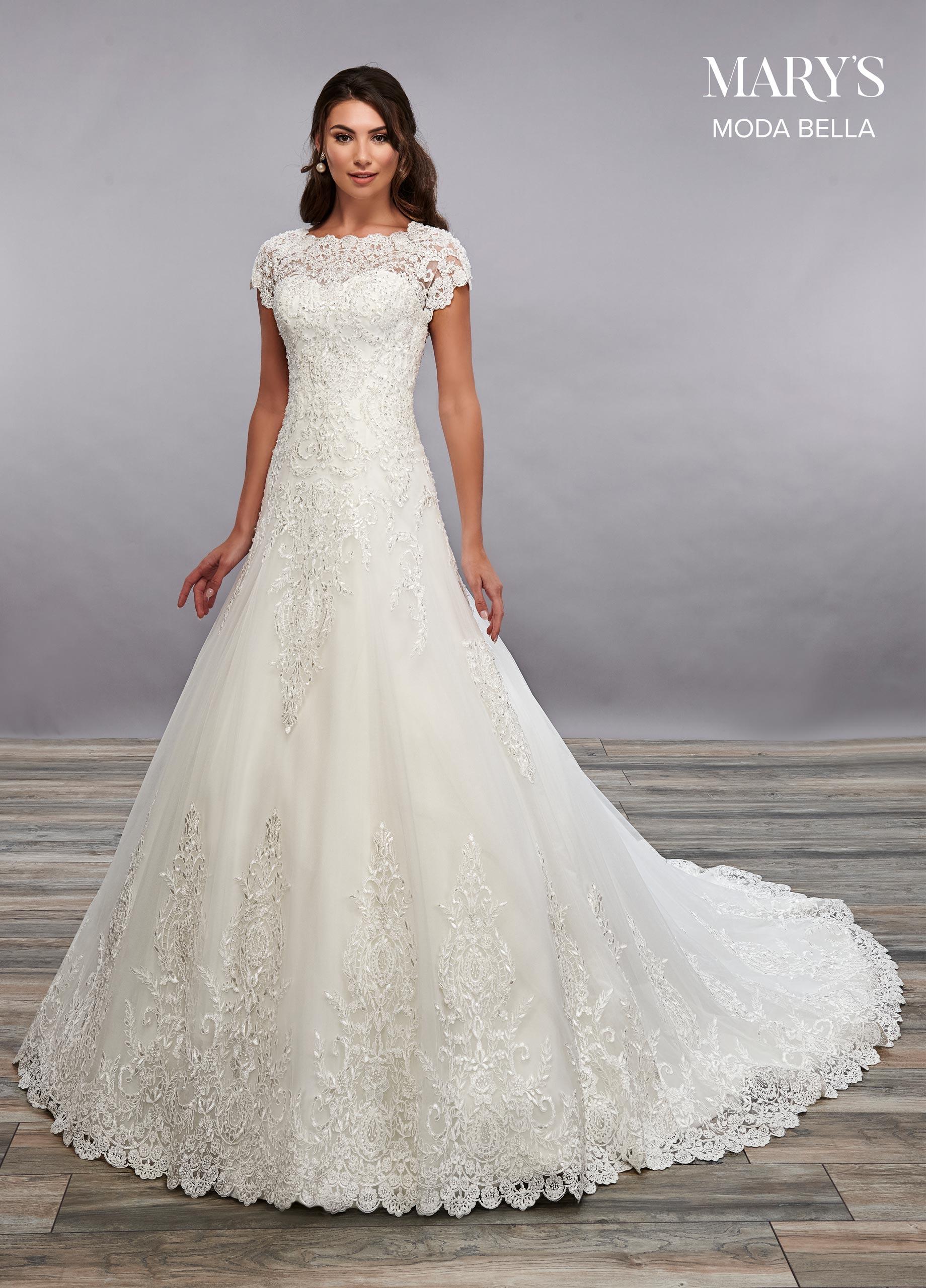 Bridal Dresses | Moda Bella | Style - MB2084