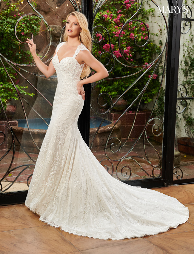 Ivory Color Bridal Dresses - Style - MB2086
