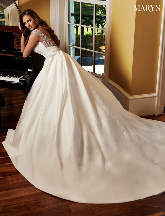 Ivory Color Bridal Dresses - Style - MB2087