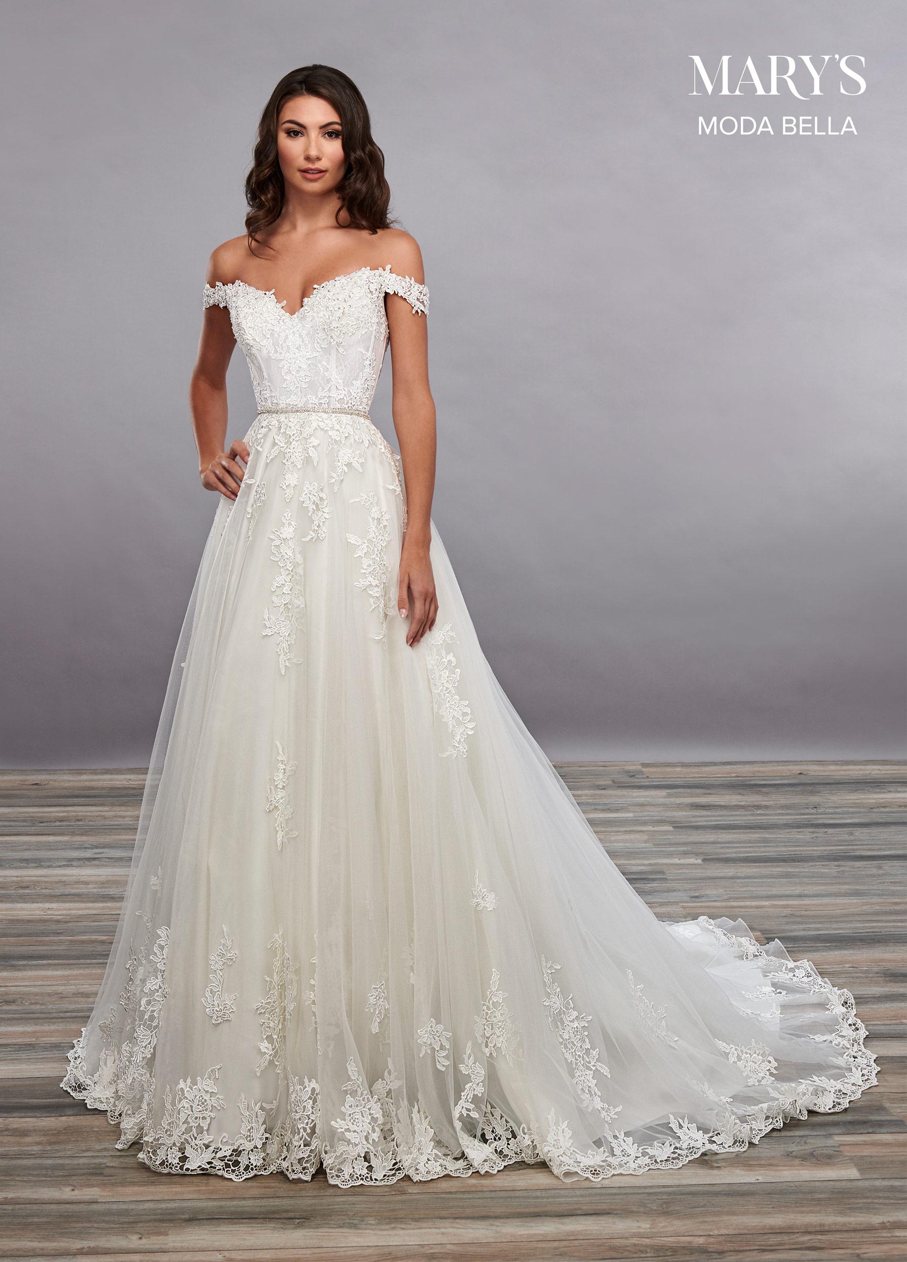 Bridal Dresses | Moda Bella | Style - MB2090