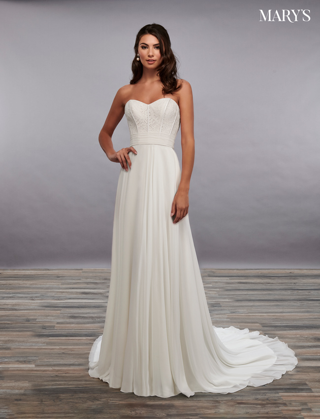Ivory Color Bridal Dresses - Style - MB2091