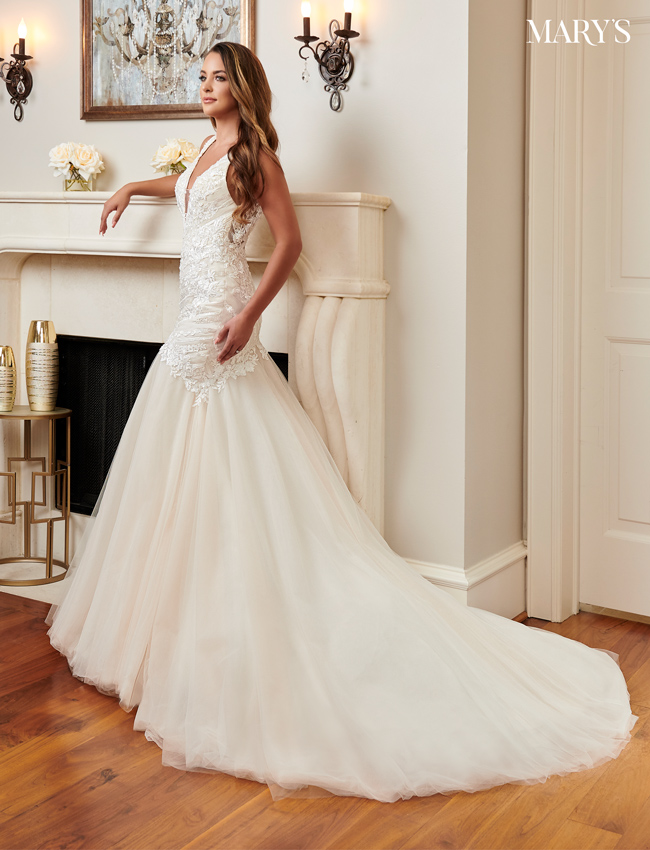 Champagne Color Bridal Dresses - Style - MB2092