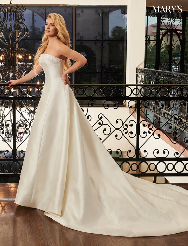 Ivory Color Bridal Dresses - Style - MB2093