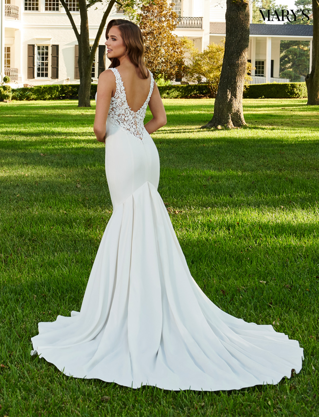 Ivory Color Bridal Dresses - Style - MB2094