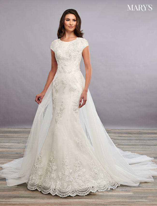 Color Bridal Dresses - Style - MB2098