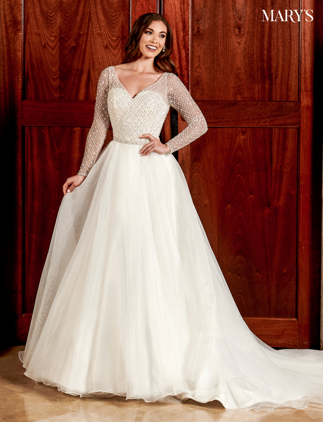 Ivory Color Bridal Dresses - Style - MB2100