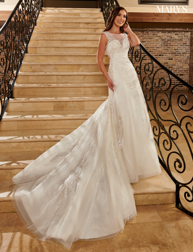 Ivory Color Bridal Dresses - Style - MB2101