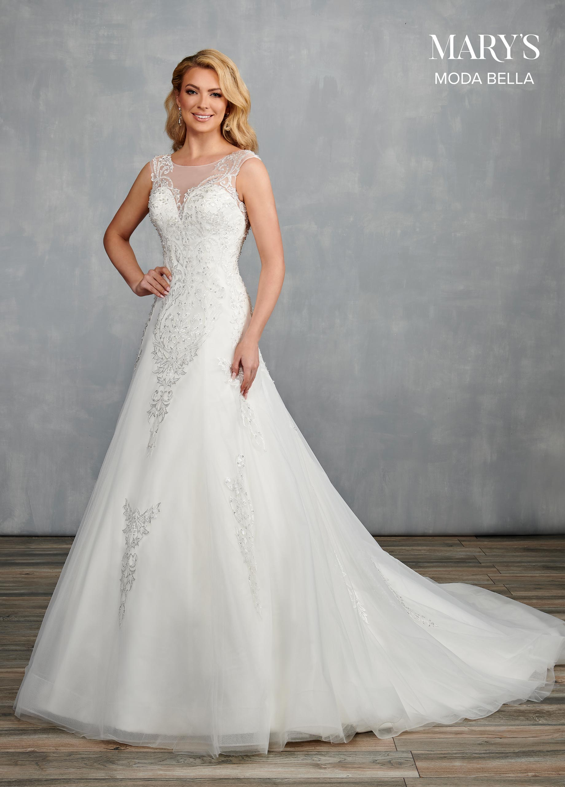 Bridal Dresses | Moda Bella | Style - MB2101