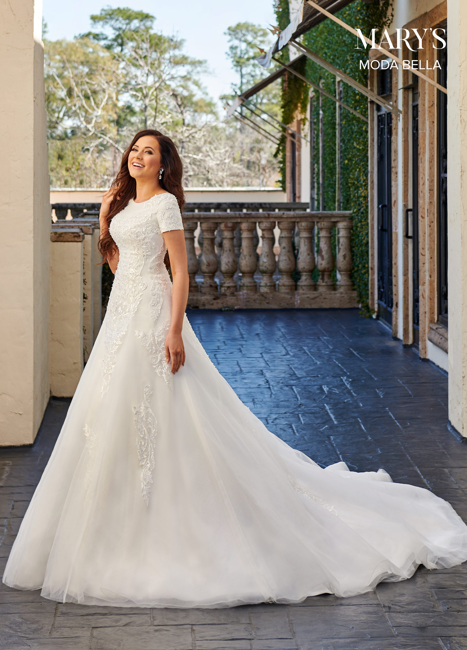 Bridal Dresses | Moda Bella | Style - MB2102