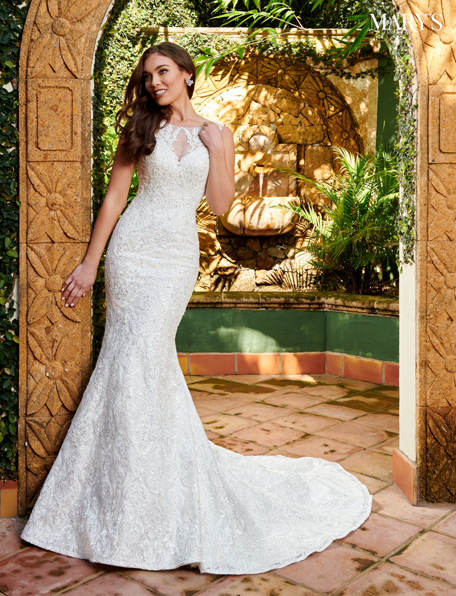 Almond Color Bridal Dresses - Style - MB2103