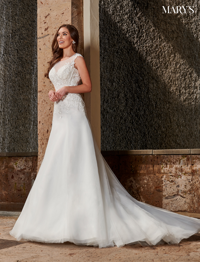 Ivory Color Bridal Dresses - Style - MB2106