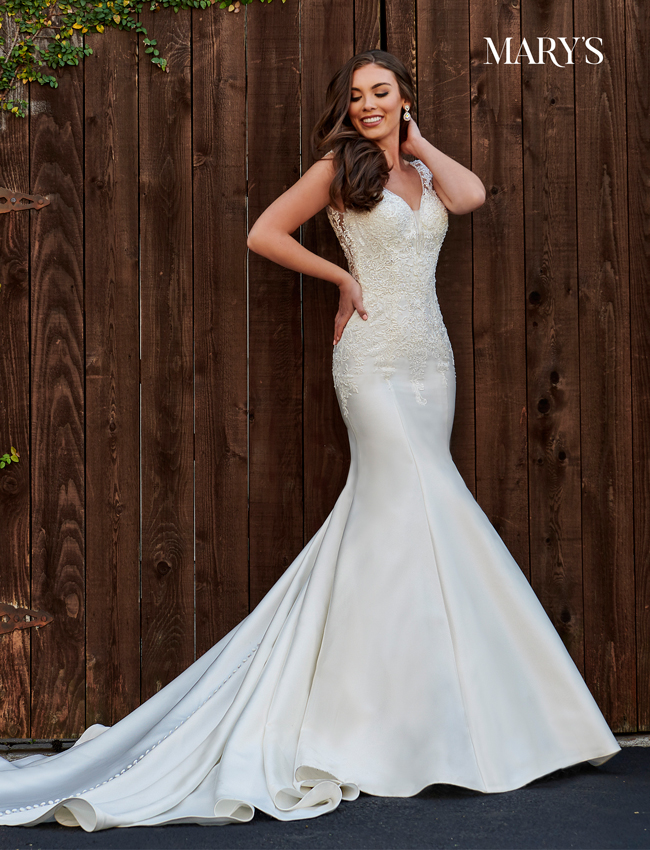 Ivory Color Bridal Dresses - Style - MB2107