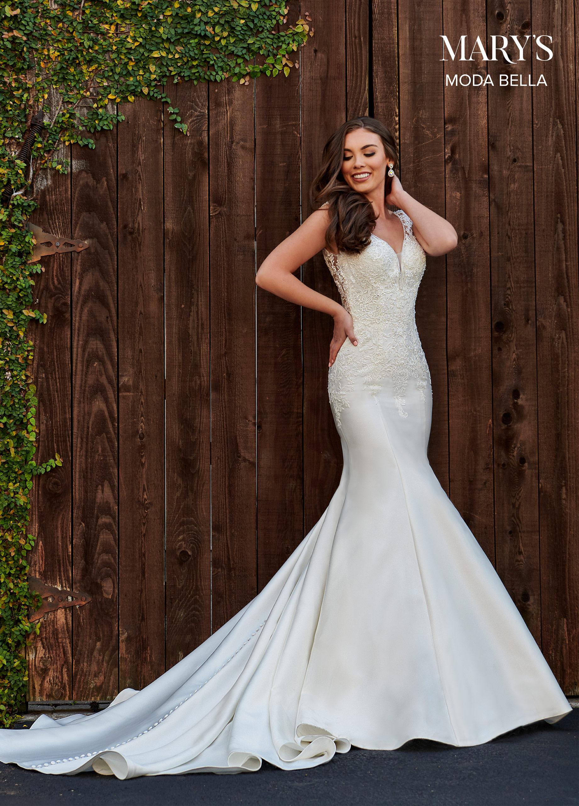Bridal Dresses | Moda Bella | Style - MB2107