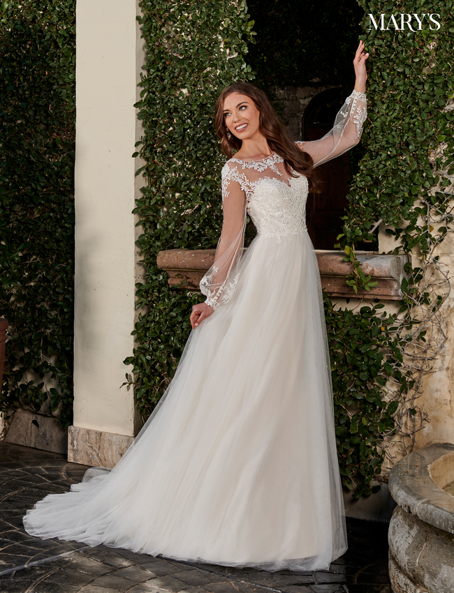 Champagne Color Bridal Dresses - Style - MB2108