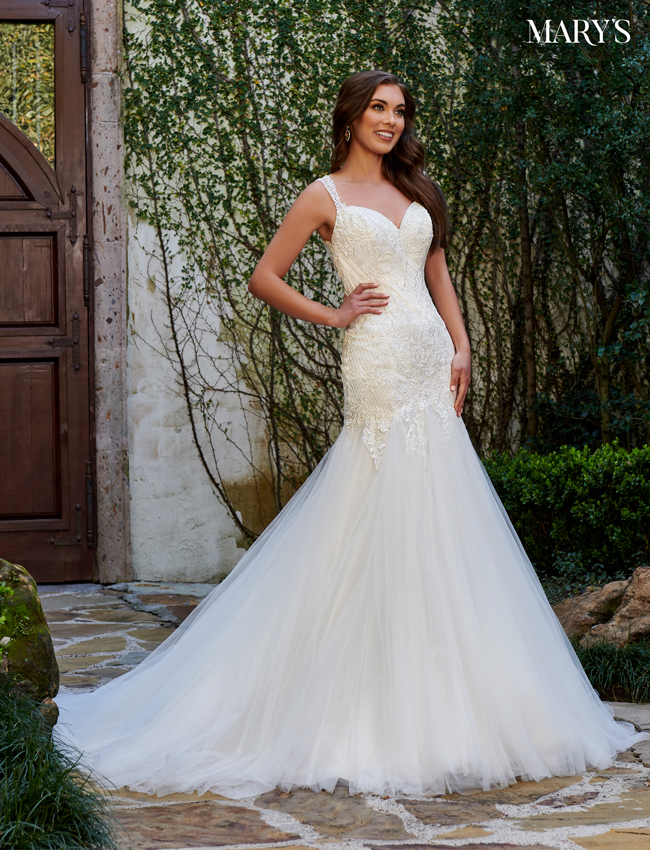 Ivory Color Bridal Dresses - Style - MB2109