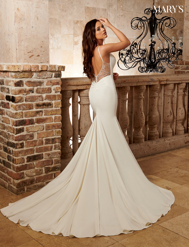 Ivory Color Bridal Dresses - Style - MB2112