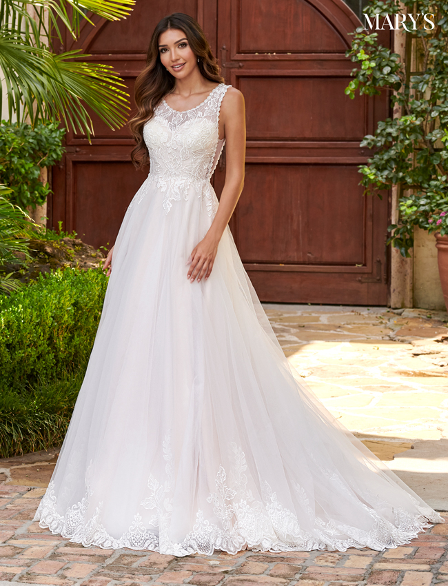 Champagne Color Bridal Dresses - Style - MB2114