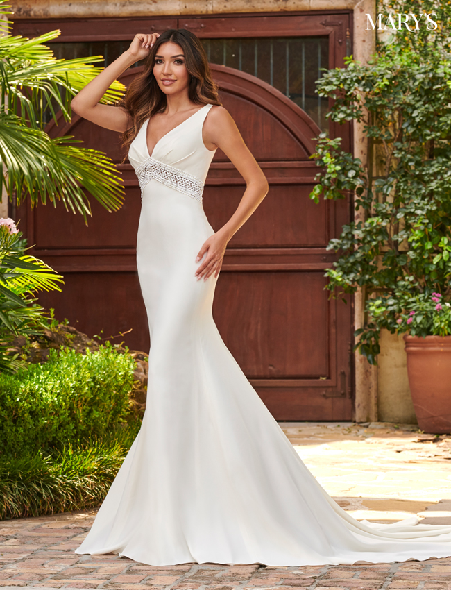 Ivory Color Bridal Dresses - Style - MB2115